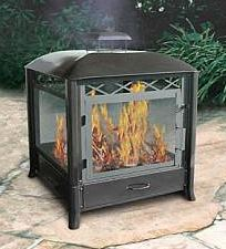 Freestanding Outdoor Fireplace