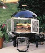 A portable outdoor fireplace with some landscaping can transform your back yard but some portable fire pits can also easily be taken with you camping or to a friend